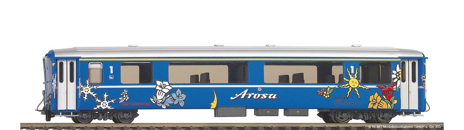 "Vůz salonní ""Arosa - Express"" RhB As 1256"